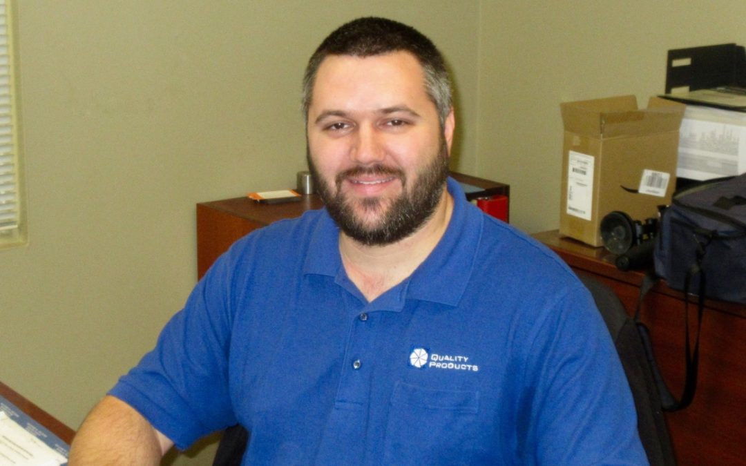 Quality Products Operations Manager Patrick Mayne