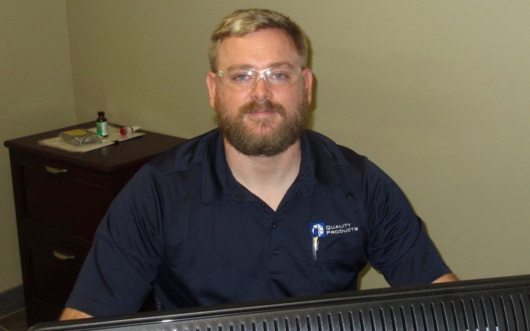 Quality Products machining manager Thomas Miller