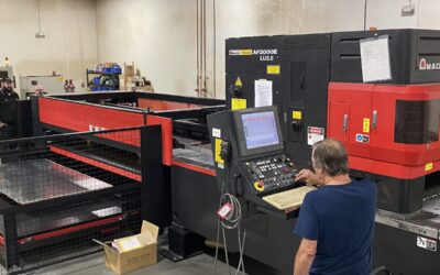 Quality Products Automates Laser Cutter